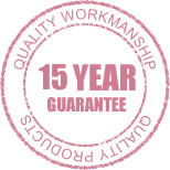 ten year guarantee on products and workmanship
