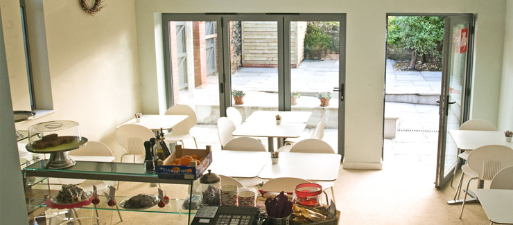 aluminium bifold doors make for the perfect patio doors